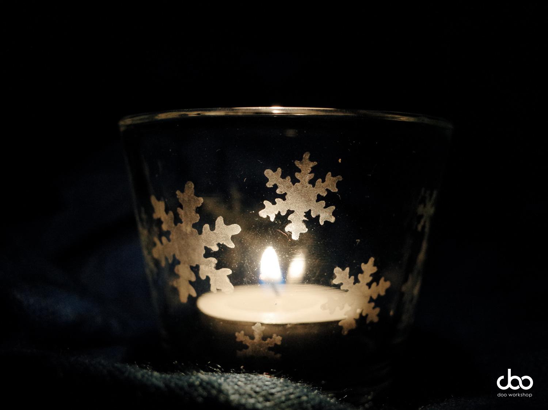 聖誕節蝕刻蠟燭杯工作坊