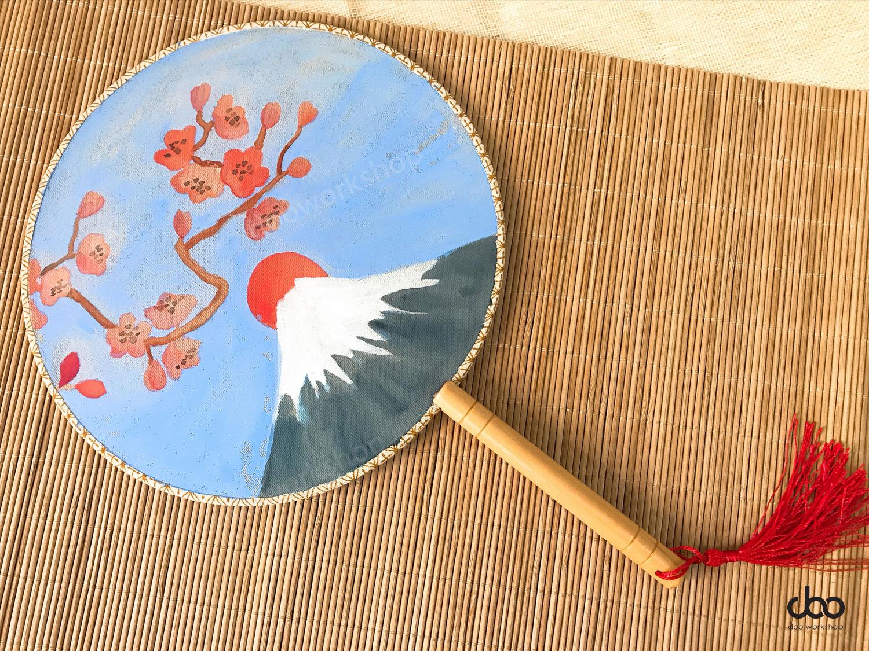 手繪日本團扇工作坊
